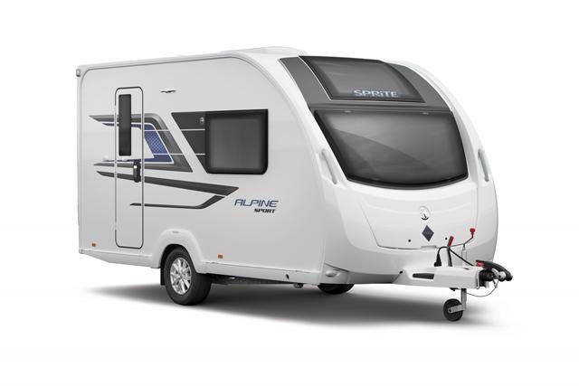 Sprite-Alpine-caravanmodel